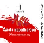poland independence day... | Shutterstock .eps vector #732890860