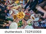 gori  georgia   april 23  2015. ... | Shutterstock . vector #732910303