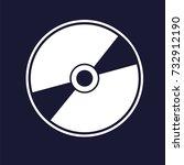 vector image of a computer... | Shutterstock .eps vector #732912190