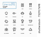 Kitchen Utensils   Line Design...