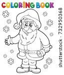 Coloring Book Santa Claus...