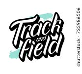vector illustration of track... | Shutterstock .eps vector #732986506