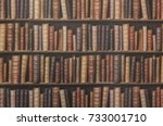 bookcase background | Shutterstock . vector #733001710