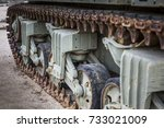 Abstract military equipment and items used for defense