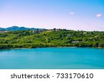 castries  st lucia  caribbean   Shutterstock . vector #733170610