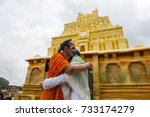 mysore   india 30 september... | Shutterstock . vector #733174279