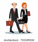 background vector business... | Shutterstock .eps vector #733189030