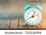 clock alarm.   Shutterstock . vector #733218394