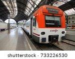 barcelona  spain   june 22 ... | Shutterstock . vector #733226530