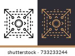 outline icon scalable system.... | Shutterstock .eps vector #733233244
