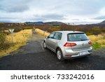 reykjavik  iceland   october 10 ... | Shutterstock . vector #733242016
