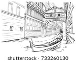 Bridge Of Sighs  Venice Sketch