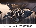 crushing  grinding  sorting and ... | Shutterstock . vector #733279840