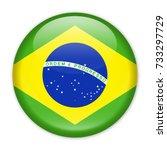 brazil flag vector round icon   ... | Shutterstock .eps vector #733297729