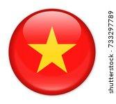 vietnam flag vector round icon  ... | Shutterstock .eps vector #733297789