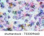 abstract art background. oil... | Shutterstock . vector #733309660