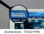milan  italy   august 10  2017  ...   Shutterstock . vector #733327498