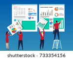 business work | Shutterstock .eps vector #733354156