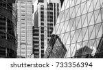 commercial building in hong... | Shutterstock . vector #733356394
