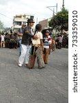 cotacachi  ecuador   june 29 ... | Shutterstock . vector #733359010
