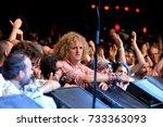 barcelona   may 30  big jeff ...   Shutterstock . vector #733363093