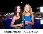 odessa  ukraine july 29  2015 ... | Shutterstock . vector #733375864