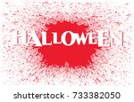 halloween vector graphic and... | Shutterstock .eps vector #733382050