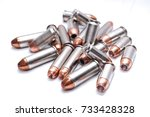 A Pile Of 357 Magnum Bullets O...