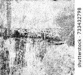 grunge black white. distress...   Shutterstock . vector #733432798