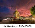 krabi  thailand   october  6 ...   Shutterstock . vector #733495060