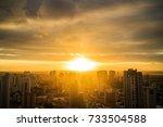 natal skyline | Shutterstock . vector #733504588