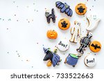 Bright Halloween Gingerbread...