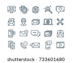 communication. social media.... | Shutterstock .eps vector #733601680