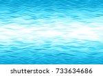 blue waves background. eps8....   Shutterstock .eps vector #733634686