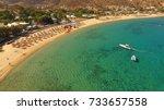 aerial birds eye view photo... | Shutterstock . vector #733657558