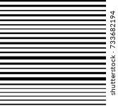 narrow black white horizontal... | Shutterstock .eps vector #733682194