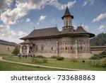 vatra moldovitei  romania ...   Shutterstock . vector #733688863