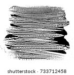grunge soap texture black and... | Shutterstock .eps vector #733712458