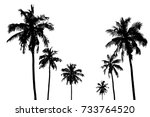 vector illustrations set... | Shutterstock .eps vector #733764520