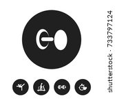 set of 5 editable healthy icons....