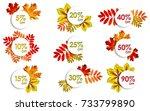 5  10  15  20  25  30  40  50 ... | Shutterstock .eps vector #733799890
