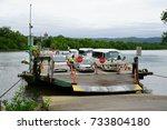 port douglas  australia  1 aug... | Shutterstock . vector #733804180