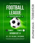 football league tournament... | Shutterstock .eps vector #733810528