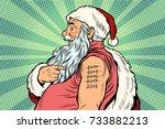 Santa Claus With Tattoos 2018....