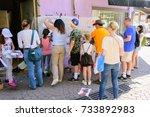 tel aviv   oct 13  2017 ...   Shutterstock . vector #733892983