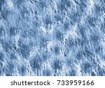 white blue watercolor grunge... | Shutterstock . vector #733959166