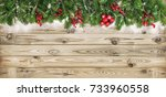 Christmas Tree Branches With...