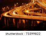 bridge night scape | Shutterstock . vector #73399822