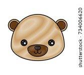 cute animals design    Shutterstock .eps vector #734006620