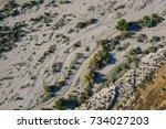 Desert Sand And Brush Form...